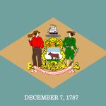National Flag of Delaware