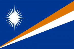 National Flag of The Marshall Islands