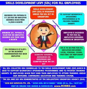 Infographic of SDL system for Employers