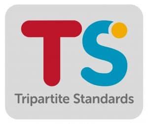 Tripartitie Standards master logo